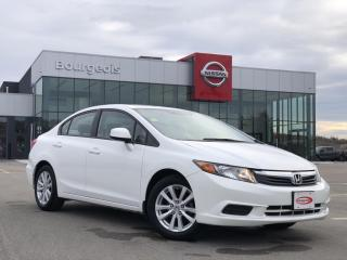 Used 2012 Honda Civic EX-L ONLY 28,663KM!! LEATHER, NAVIGATION for sale in Midland, ON
