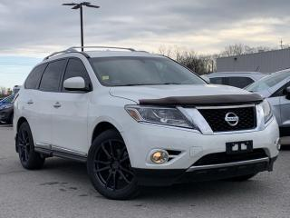 Used 2014 Nissan Pathfinder LEATHER HEATED SEATS/ STEERING, NAVIGATION for sale in Midland, ON