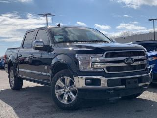 Used 2018 Ford F-150 King Ranch 3.0L DIESEL!! MASSAGING SEAT for sale in Midland, ON