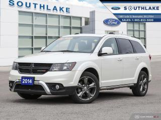 Used 2014 Dodge Journey Crossroad LEATHER|MOONROOF| for sale in Newmarket, ON