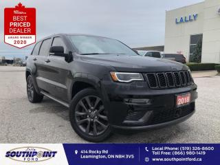 Used 2018 Jeep Grand Cherokee Overland High Altitude II|Leather|HTD&Cooled seats|Navi|5.7 for sale in Leamington, ON