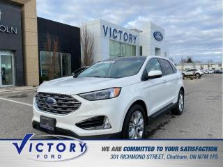 Used 2020 Ford Edge Titanium| ROOF| ADAPTIVE CRUISE | LANE CENTERING for sale in Chatham, ON