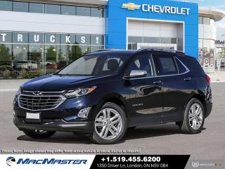 New 2021 Chevrolet Equinox Premier TURBO | LEATHER SEATS | AWD | REAR VIEW CAMERA | BLUETOOTH | HEATED SEATS for sale in London, ON