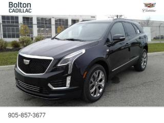 New 2021 Cadillac XT5 Sport - Navigation - Leather Seats - $397 B/W for sale in Bolton, ON