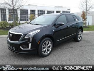 New 2021 Cadillac XT5 Sport - Navigation - Leather Seats - $430 B/W for sale in Bolton, ON