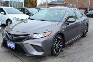 Used 2019 Toyota Camry Hybrid SE Sunroof Leather for sale in Brampton, ON