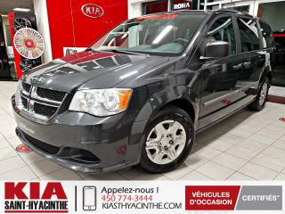 Used 2012 Dodge Grand Caravan SE ** GR ÉLECTRIQUE + A/C for sale in St-Hyacinthe, QC