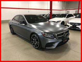Used 2018 Mercedes-Benz E-Class E43 AMG 4MATIC DISTRONIC PREMIUM TECHNOLOGY NIGHT DESIGNO for sale in Vaughan, ON