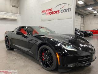 Used 2019 Chevrolet Corvette 2dr Stingray Cpe w-1LT Red Seats NPP Z51 Wheels for sale in St. George, ON
