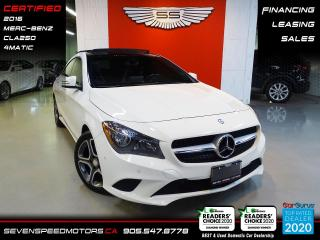 Used 2016 Mercedes-Benz CLA-Class PANO 4MATIC | ACCIDENT FREE | FINANCE @ 4.65% for sale in Oakville, ON