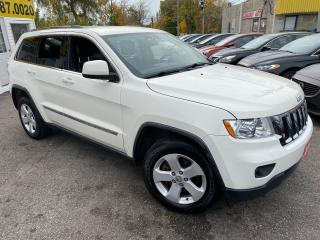 Used 2011 Jeep Grand Cherokee LAREDO/ 4WD/ LEATHER/ CAM/ BLUETOOTH/ ALLOYS ++ for sale in Scarborough, ON