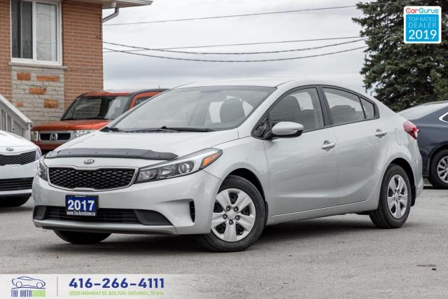 2017 Kia Forte LX|6 Speed manual|Clean Carfax|Low kms|