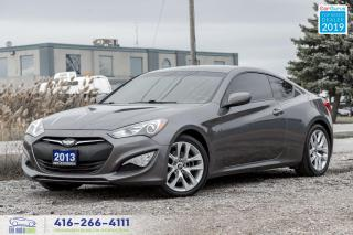 Used 2013 Hyundai Genesis Coupe 2.0T|Premium|Manual|Navigation|Leather|Low kms| for sale in Bolton, ON