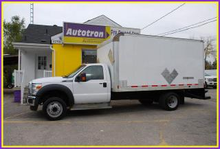 Used 2016 Ford F-550 2016 Ford F-550 16' Cube for sale in Woodbridge, ON