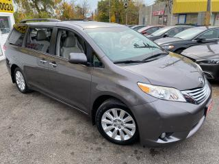 Used 2011 Toyota Sienna LIMITED/ AWD/ DVD/ NAVI/ CAM/ LEATHER/ DBL ROOF ++ for sale in Scarborough, ON