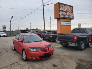 Used 2006 Mazda MAZDA3 GT**AUTO**ONLY 144KMS**LEATHER**AS IS SPECIAL for sale in London, ON