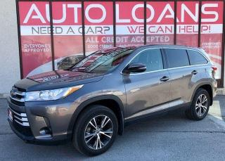 Used 2019 Toyota Highlander LE-ALL CREDIT ACCEPTED for sale in Toronto, ON