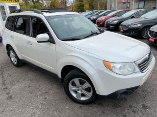 Used 2010 Subaru Forester LIMITED/ AWD/ LEATHER/ PANO ROOF/ ALLOYS/ TINTS ++ for sale in Scarborough, ON