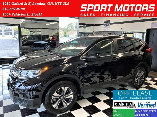 2018 Honda CR-V LX+AWD+Adaptive Cruise+LKA+Camera+Accident Free