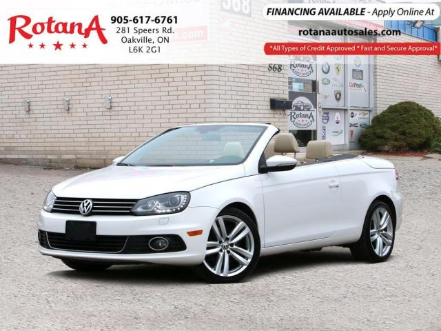 2012 Volkswagen Eos Highline w/Bi-Xenon_Navi_Bluetooth_Leather