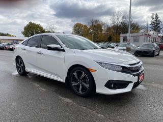 Used 2017 Honda Civic Sedan Touring 4dr FWD Sedan for sale in Brantford, ON
