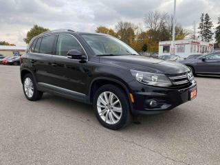 Used 2013 Volkswagen Tiguan Highline 4dr AWD Sport Utility Vehicle for sale in Brantford, ON