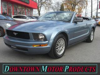 Used 2007 Ford Mustang Convertible for sale in London, ON