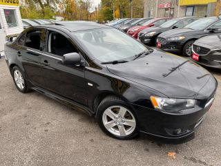 Used 2013 Mitsubishi Lancer SE/AUTO/SUNROOF/ALLOYS/SPOILER/ TINTED/ FOG LIGHTS ++ for sale in Scarborough, ON