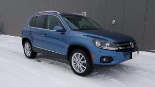 Used 2017 Volkswagen Tiguan COMFORTLINE for sale in Winnipeg, MB