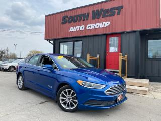 Used 2018 Ford Fusion ENERGI|NAV|BackUp|Htd Lthr Seats|Alloys|Bluetooth for sale in London, ON