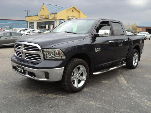 2013 RAM 1500 Big Horn CrewCab 4x4 5.7L Hemi 5.5ft Box BackUpCam