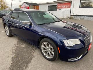Used 2017 Chrysler 300 300C Platinum ** AWD, NAV, HTD/COOL LEATH ** for sale in St Catharines, ON