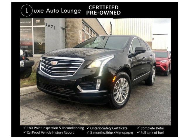 2017 Cadillac XT5 LUXURY AWD, LEATHER, HEATED SEATS, SUNROOF, NAV!!