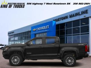 New 2020 Chevrolet Colorado 4WD ZR2 for sale in Rosetown, SK
