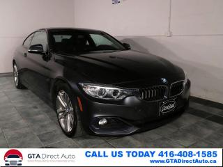 Used 2016 BMW 4 Series 428i xDrive AWD Nav Sun Cam Xenon Sport Certified for sale in Toronto, ON