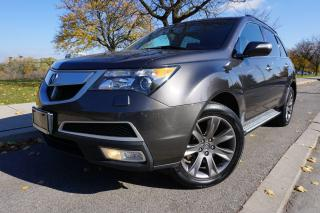 Used 2010 Acura MDX ELITE / RARE STUNNING COMBO / LOCAL CAR / DVD PLAY for sale in Etobicoke, ON