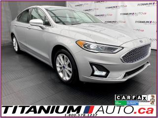 Used 2019 Ford Fusion Plug In Hybrid Energi Plug-In+Titanium+GPS+Blind Spot+Cooled Seat for sale in London, ON