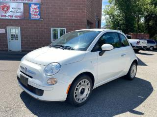 Used 2012 Fiat 500 1.4L/LOW KMS/5 SPEED/NO ACCIDENT/SAFETY+WARRANTY for sale in Cambridge, ON