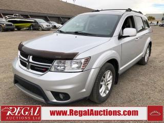 Used 2014 Dodge Journey SXT 4D Utility 7PASS 2WD 2.4L for sale in Calgary, AB