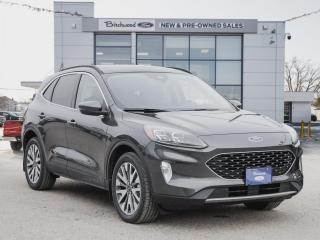 New 2020 Ford Escape Titanium Hybrid PREMIUM PKG | PANO ROOF | LEATHER for sale in Winnipeg, MB