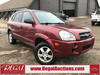 Used 2008 Hyundai Tucson 4D Utility FWD for sale in Calgary, AB