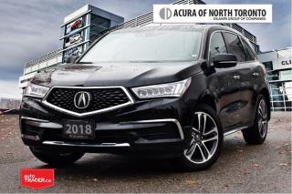 Used 2018 Acura MDX Tech No Accident| DVD| Apple Carplay|7Yrs Warranty for sale in Thornhill, ON
