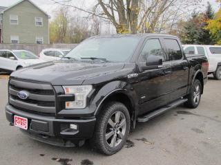 Used 2015 Ford F-150 LARIAT SUPERCREW 5.5 for sale in Brockville, ON