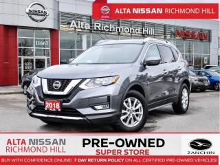 Used 2018 Nissan Rogue SV   Apple Caplay   Heated Seats   Back-UP CAM for sale in Richmond Hill, ON