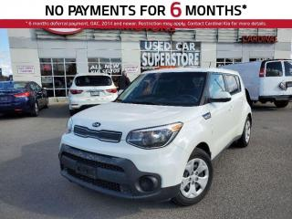 Used 2018 Kia Soul LX, Keyless Entry, Bluetooth, Traction Control. for sale in Niagara Falls, ON