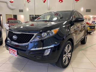 Used 2016 Kia Sportage EX Luxury AWD for sale in Waterloo, ON