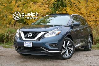 Used 2015 Nissan Murano S/SL/SV/PLATINUM Heated Seats & Steering, Navigation, 360 Camera for sale in Guelph, ON