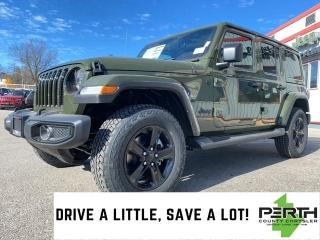 New 2021 Jeep Wrangler Unlimited Sahara Altitude | Leather | Trailer Tow | Nav | for sale in Mitchell, ON