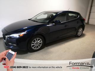 Used 2018 Mazda MAZDA3 GS|Htd Wheel|Rmt Start|Htd Seats|IActive|B.Spotl for sale in Brandon, MB