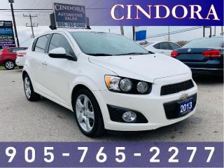 Used 2013 Chevrolet Sonic LTZ, Turbo, Heated Seats, Remote Start for sale in Caledonia, ON